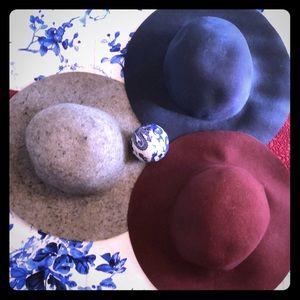 Aldo M/L grey felt hat
